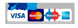 Pagar con Paypal y tarjeta de crédito